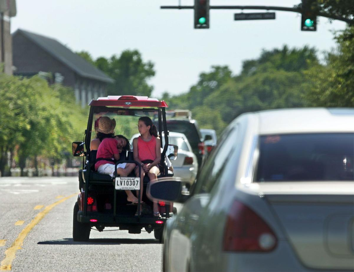 Golf carts not just for clubs anymore