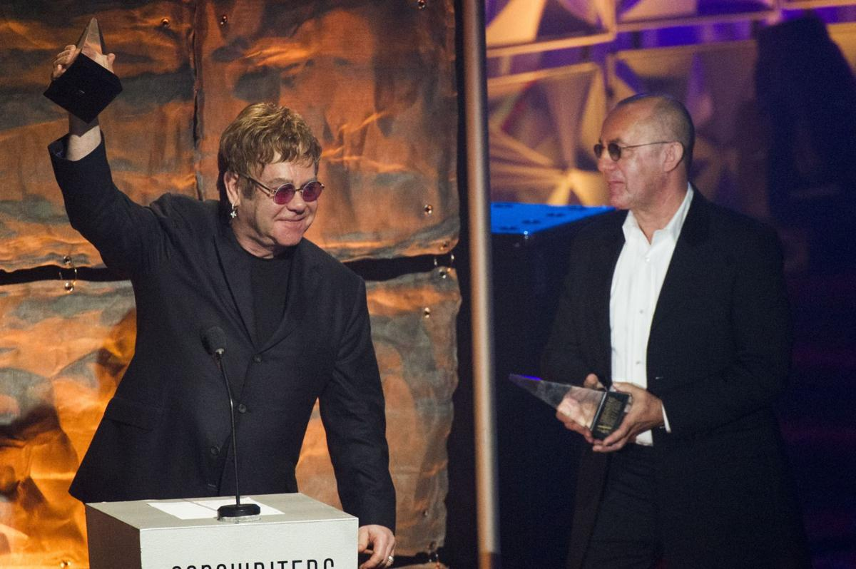 Sting, Billy Joel, Elton John at Songwriters Hall of Fame