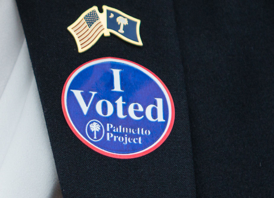 Primary Election election voting sticker