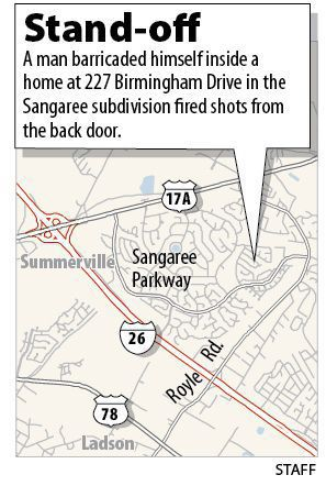 Sangaree standoff ends in arrest Man in custody after shots fired