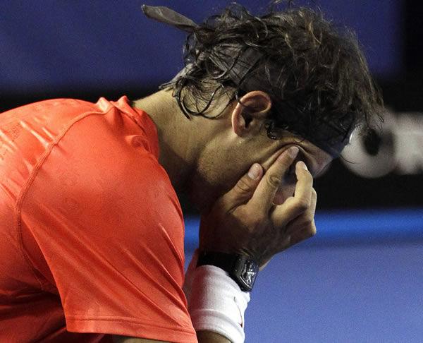 Nadal's bid for 'Rafa Slam' ends
