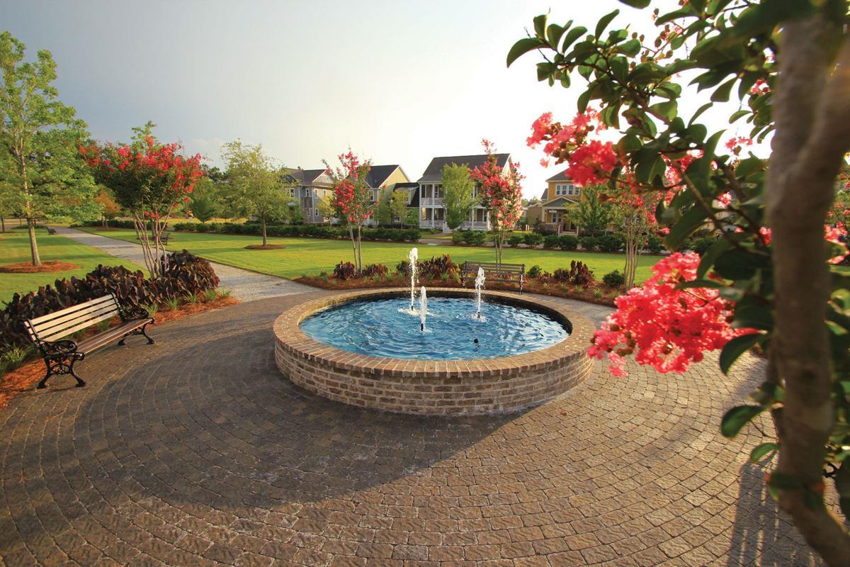 CC Village Fountain
