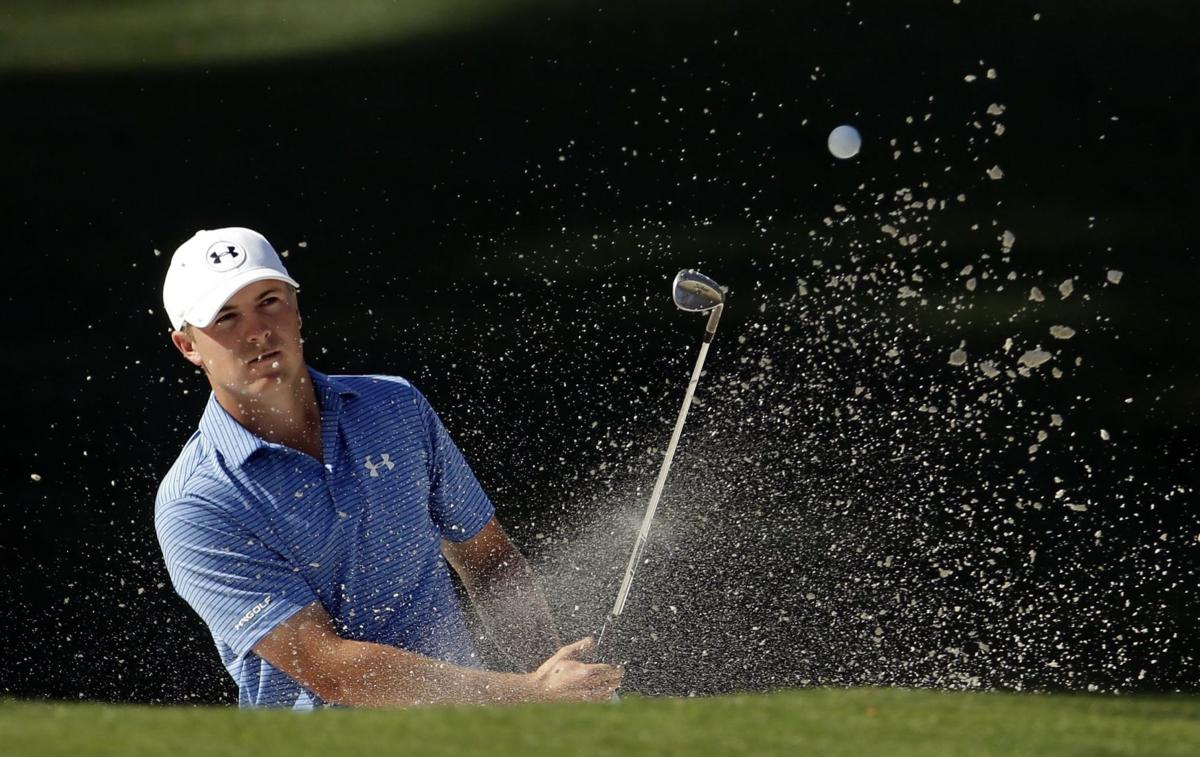 Spieth sets 54-hole Masters record, up 4