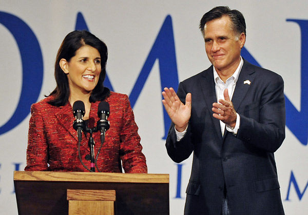 Haley chooses to back Romney