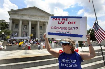 Tea Party: Sending a message