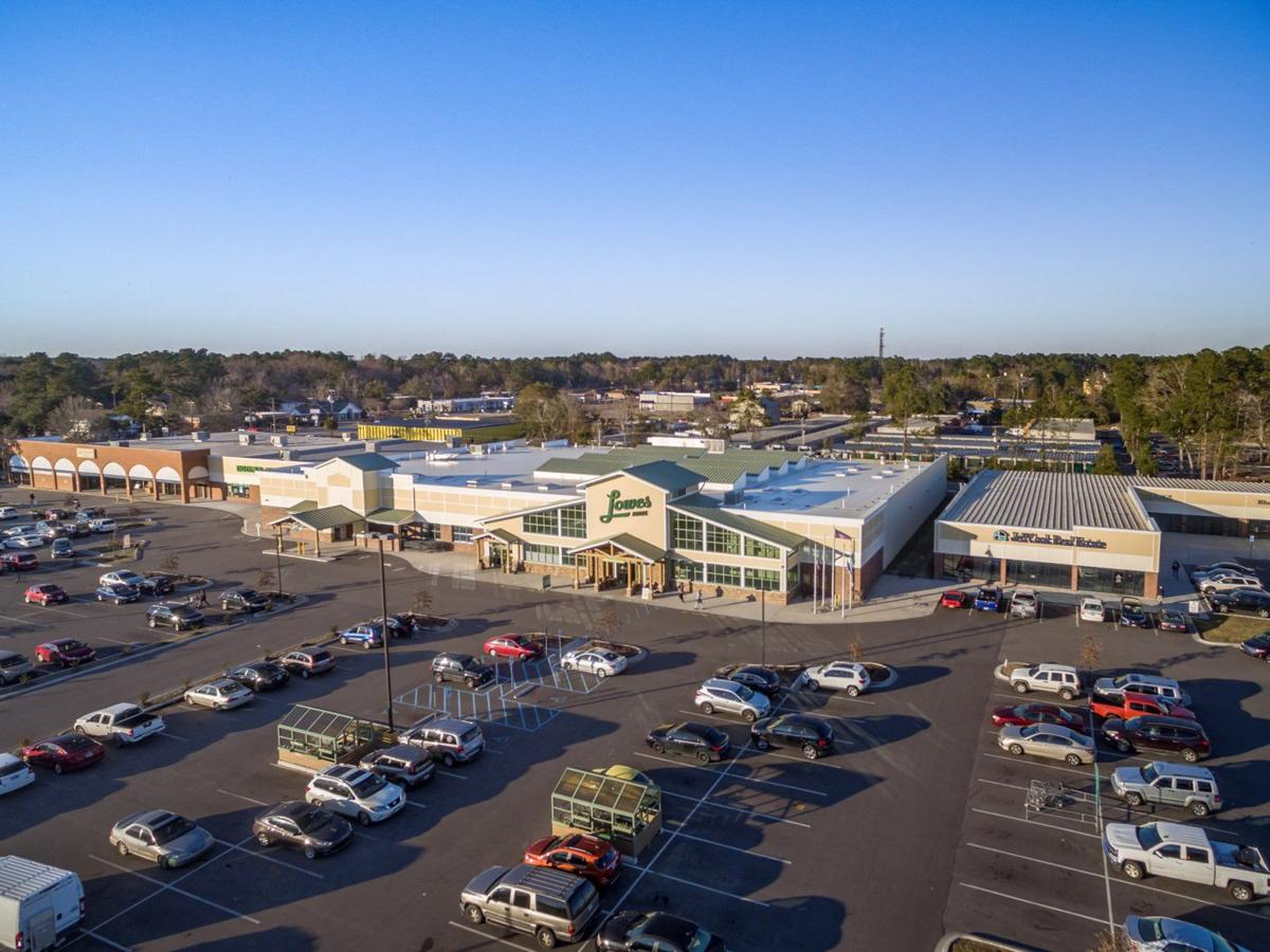 Oakbrook Station anchored by Lowes Foods in Summerville (copy)