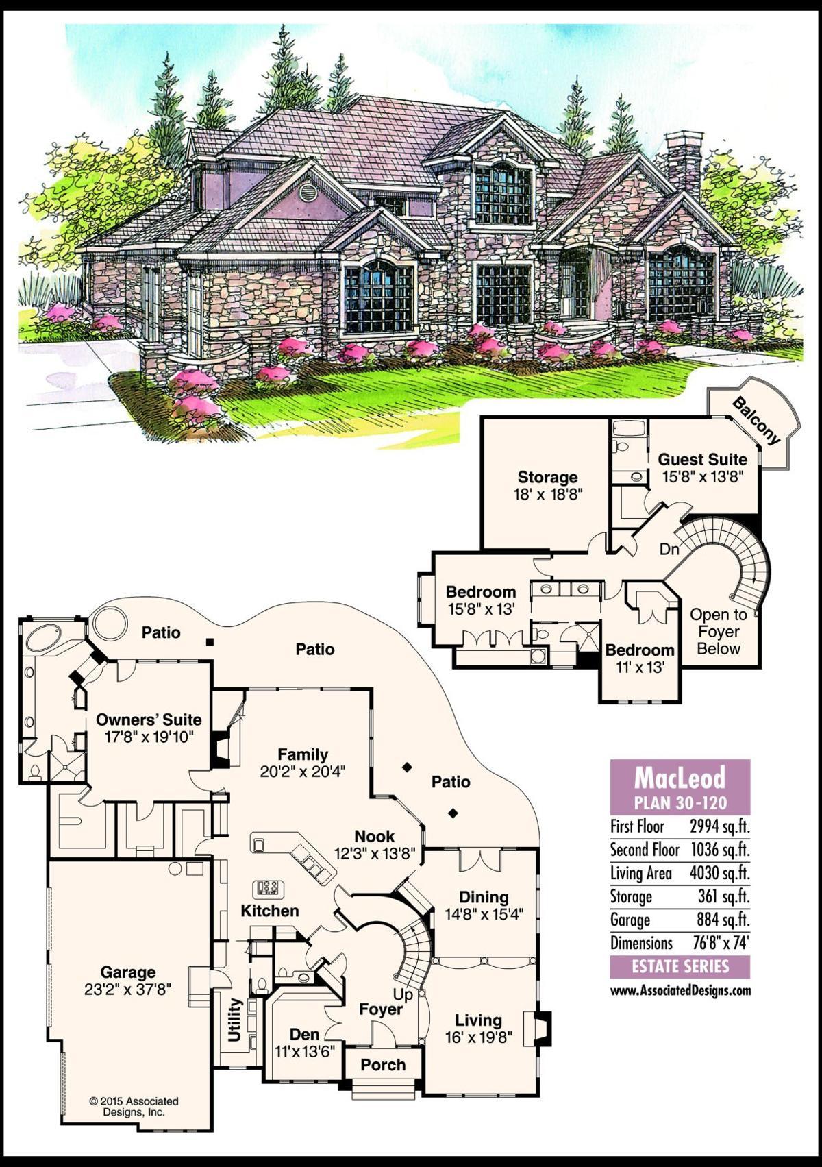 This week's house plan MacLeod 30-120