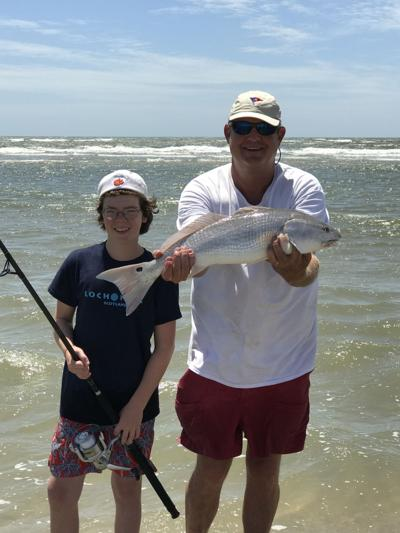 Surf Fishing In The Lowcountry Redfish