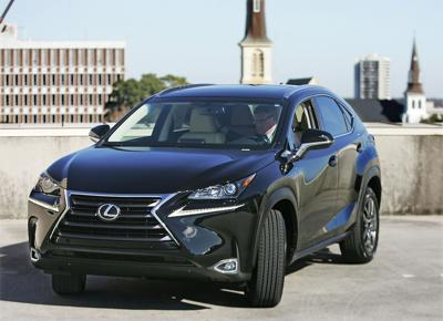Right On Schedule: Lexus expects smallish yet spacious new NX crossover to fill gap in carmaker's luxury lineup
