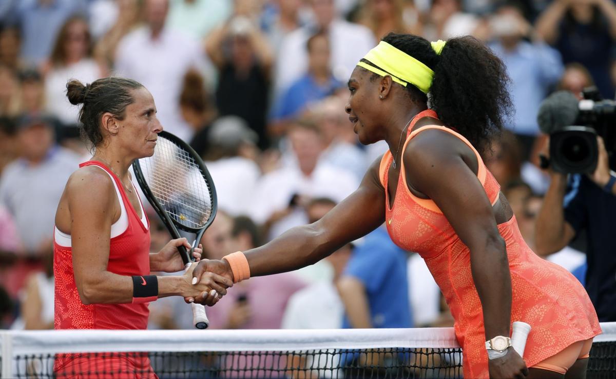 Veni, Vidi, Vinci: Serena stunningly conquered