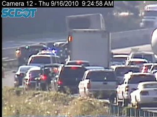 I-26 clear again following wreck near U.S. 78