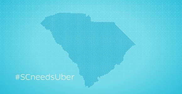 Uber launches social media campaign in response to cease and desist order in South Carolina