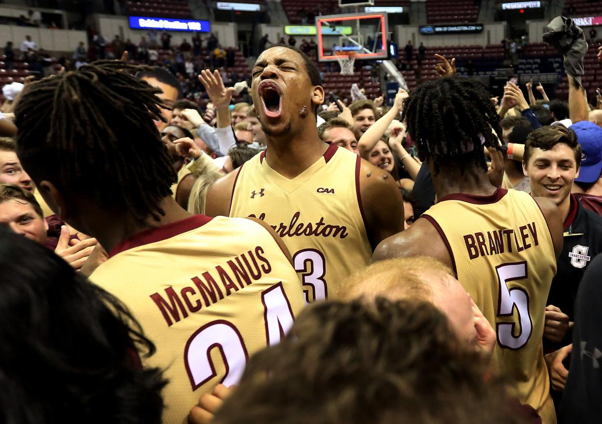 timeless design 5de44 dd397 College of Charleston men's basketball advances to NCAA ...