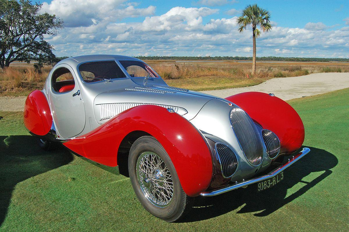 Vintage cars find a home on Kiawah this weekend