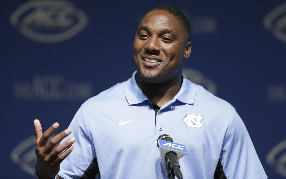 Postcard from ACC Kickoff: 'No pressure' against South Carolina, says UNC's Marquise Williams