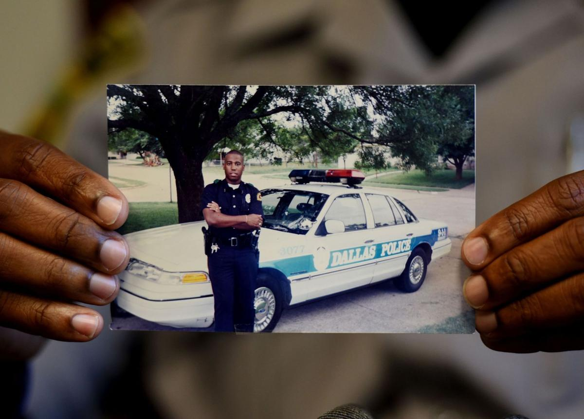 Charleston County deputy who began career on Dallas police force visits city after tragedy