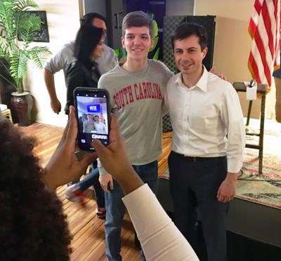 Pete Buttigieg in Columbia