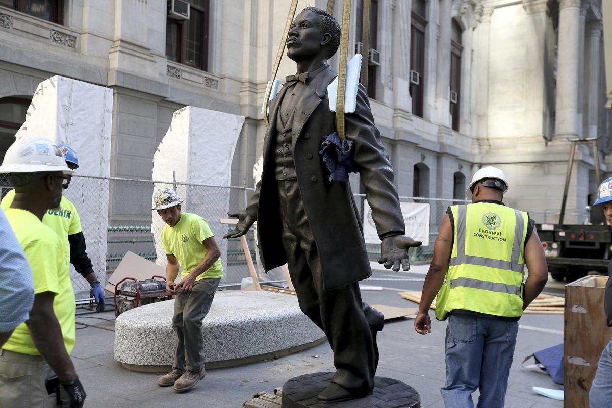 Philadelphia Black Activist Statue