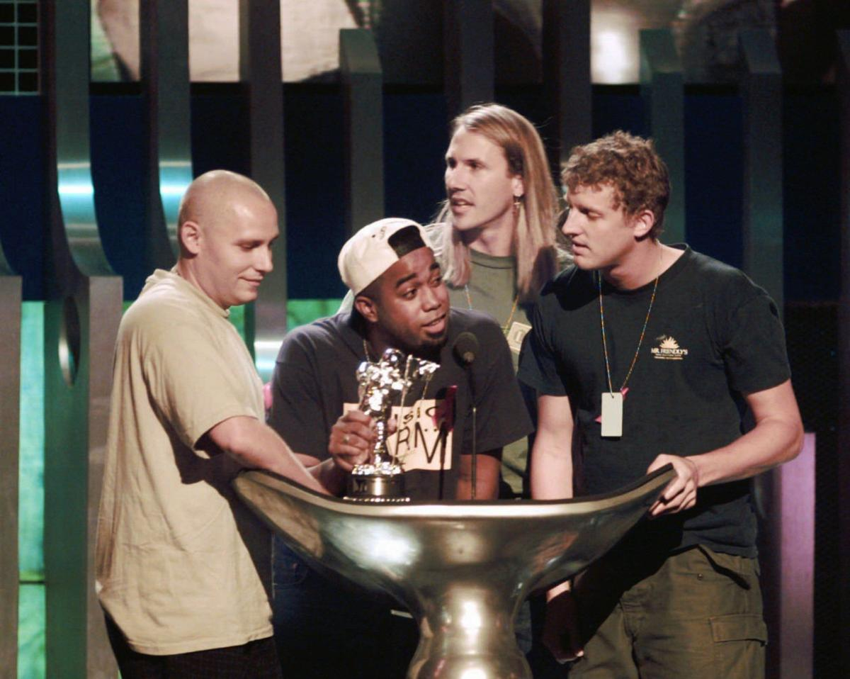 Hootie and the Blowfish through the years