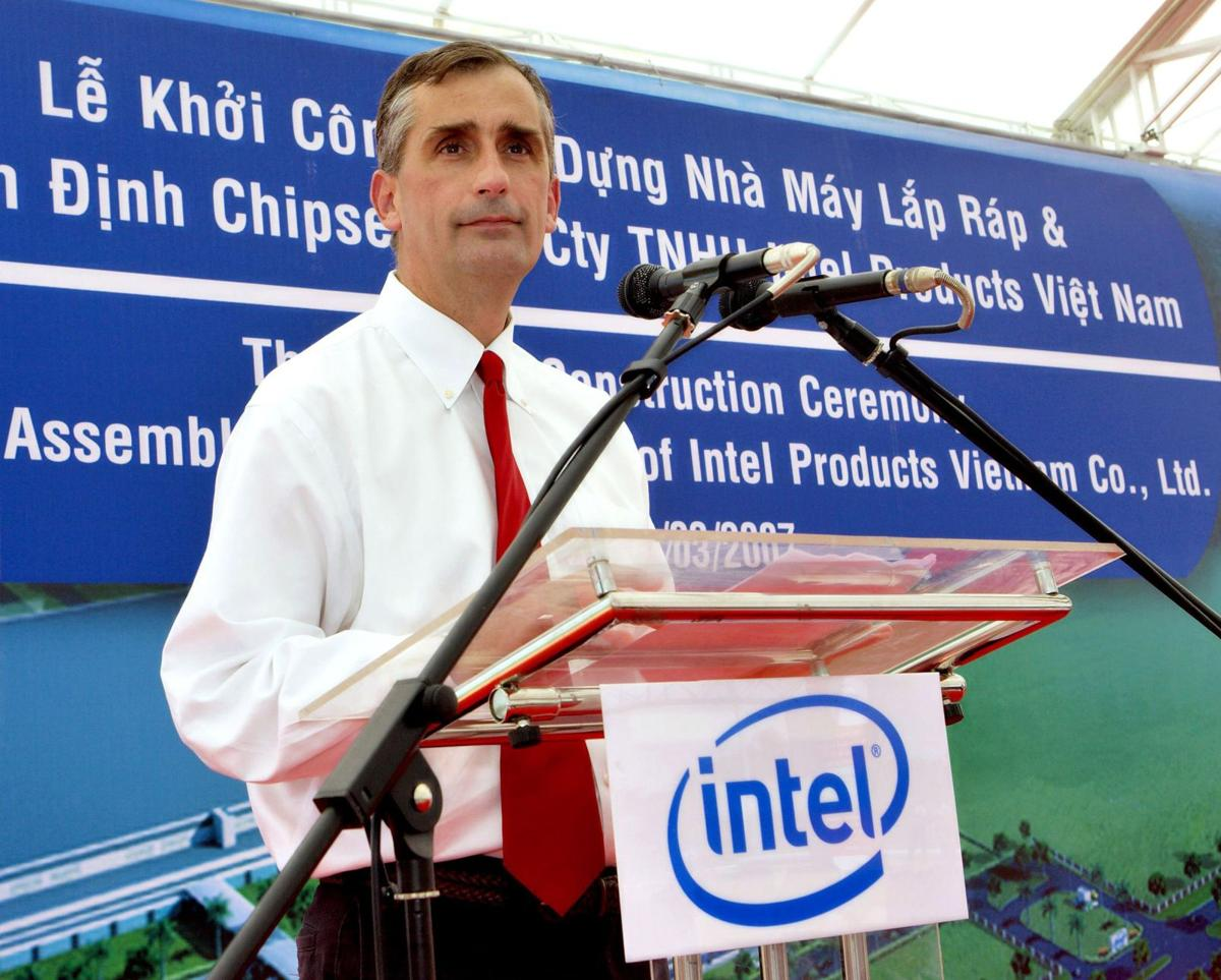 Meet the new boss: computer chip giant Intel picks a new CEO
