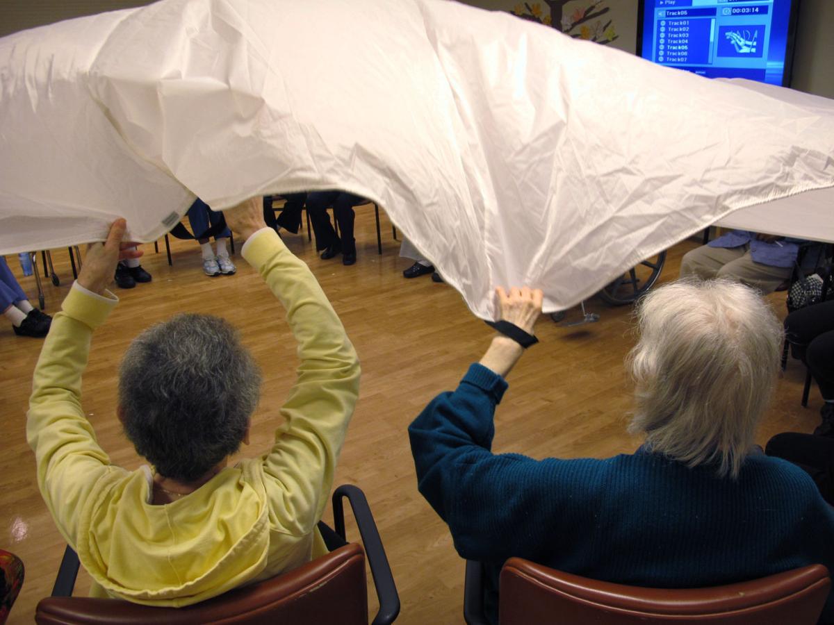 Overnight dementia 'camp' allows caregivers rest