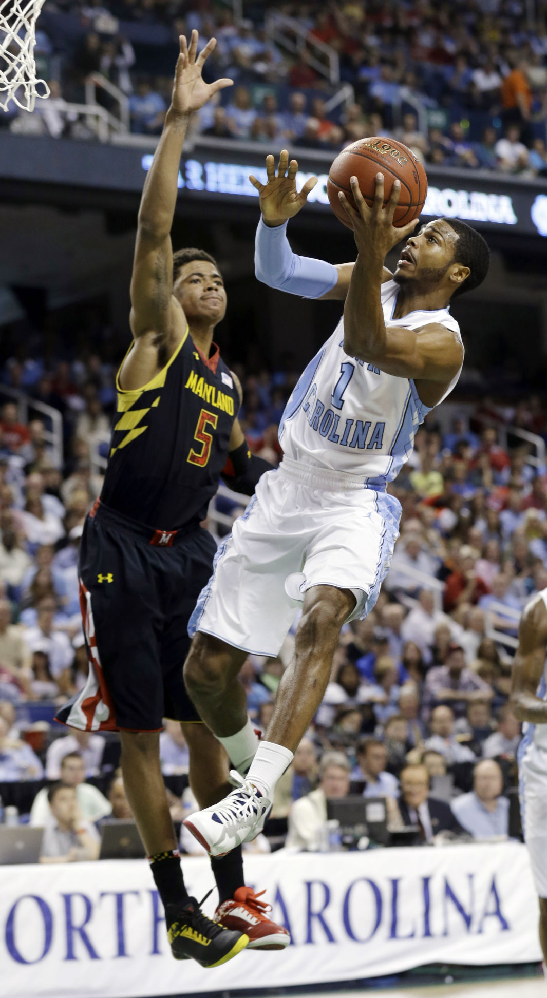 Tar Heels edge Terps to reach final of ACC