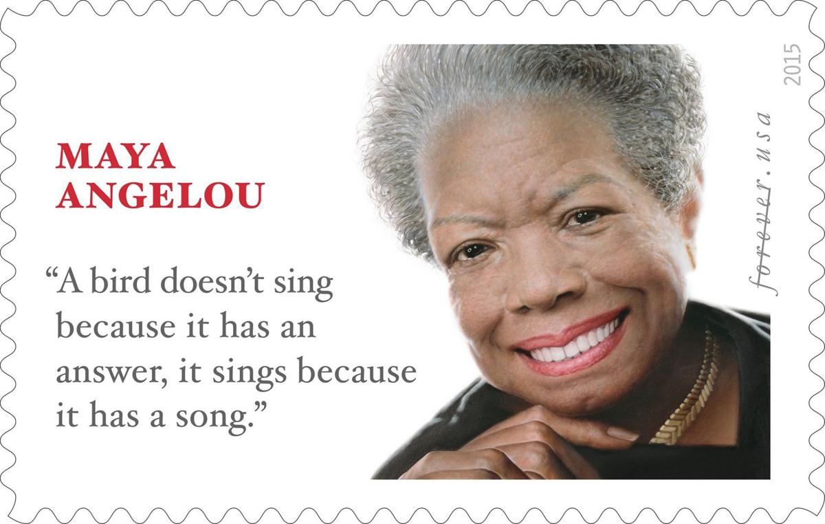 Postal Service issuing stamp to honor late poet Maya Angelou