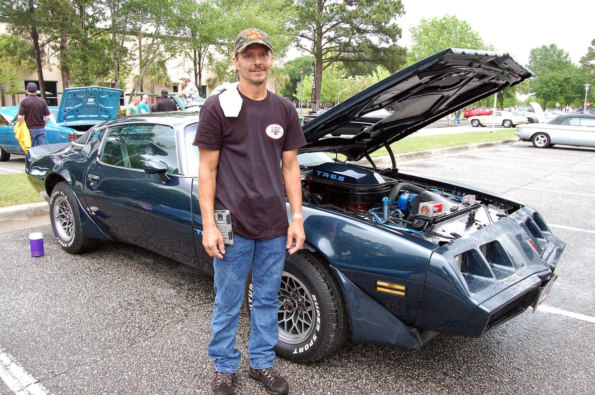 Spring Spin-Off car show survives rain, assembles 160-plus vehicles from muscle to tuners at Trident Technical College