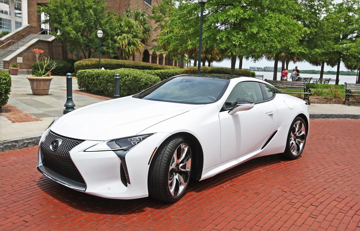 2018 lexus coupe.  coupe this 2018 lexus lc 500 luxury sports coupe is parked off a downtown  charleston street inside lexus