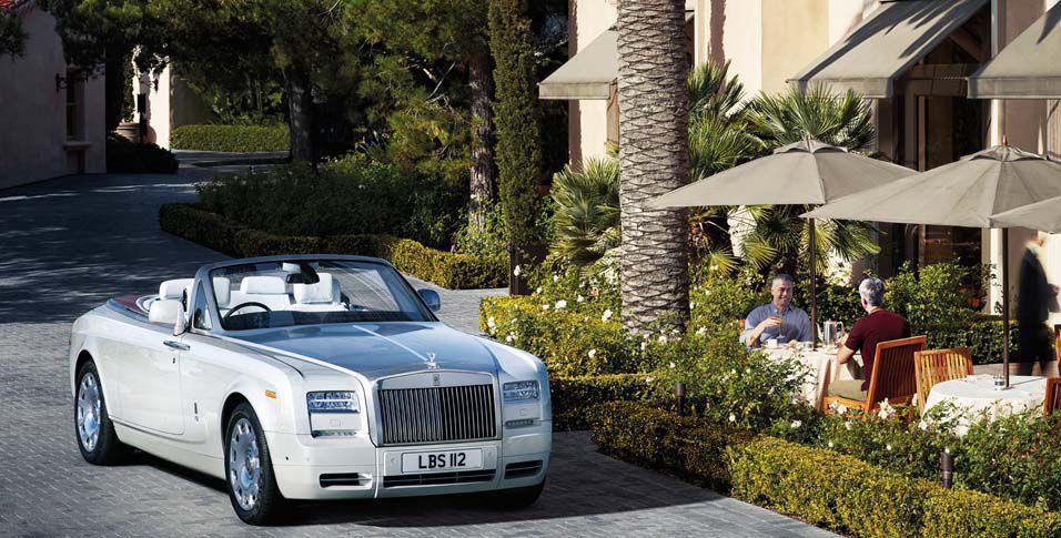 Baker Motor Co Named Rolls Royce Dealer Business