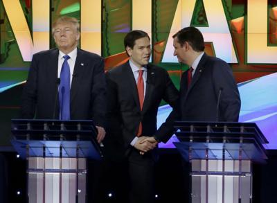 BC-US--GOP 2016-Debate, 7th Ld-Writethru,800<\n>Anxious to slow Trump, both Rubio and Cruz go after him<\n>AP Photo TXKJ125, TXKJ132, TXKJ128, TXKJ122, TXKJ133, TXKJ135, TXKJ121