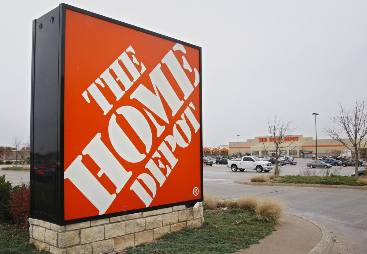 Warmer weather pushes Home Depot's first-quarter profit up