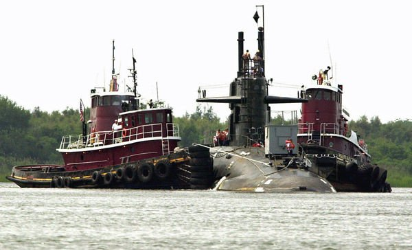 Why was there a submarine in our harbor?
