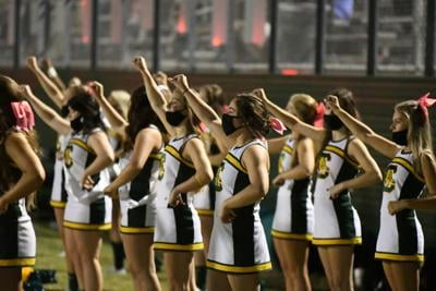 Conway High cheerleaders