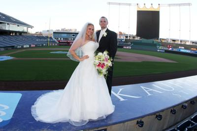 Baseballs diamonds Ballparks can be perfect for team fans looking for a special place to get married