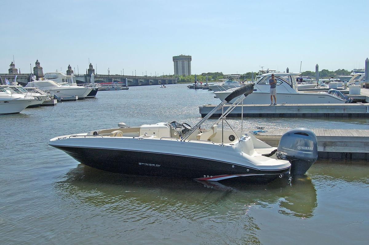 On Deck Roomy Stingray 212 a well-appointed recreational craft that packs a punch