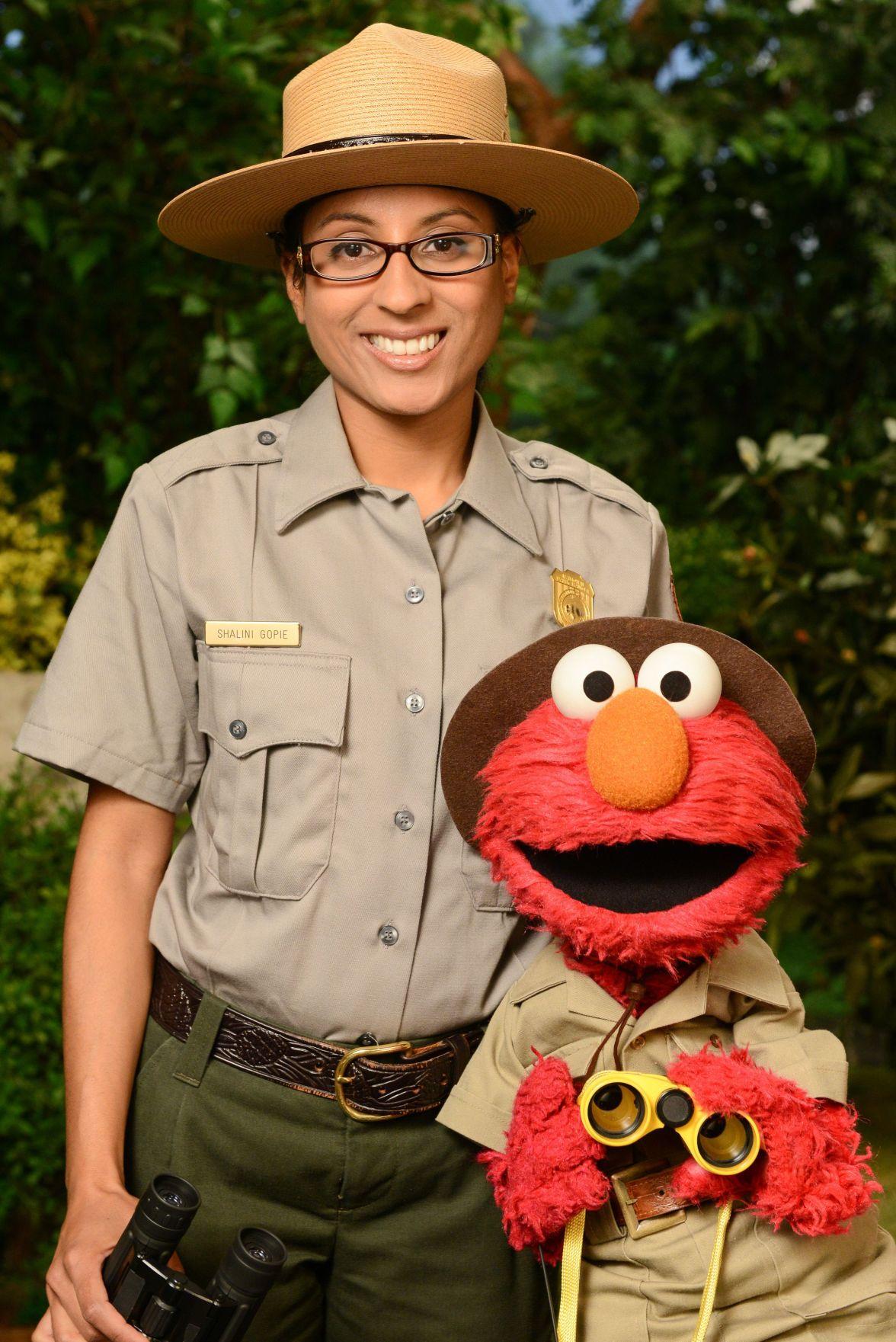 Sesame project urges kids to visit parks, get outdoors