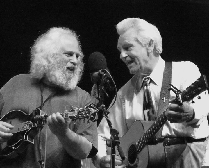 Just announced: 'Del & Dawg,' Del McCoury & David Grisman, to play Charleston Music Hall in April