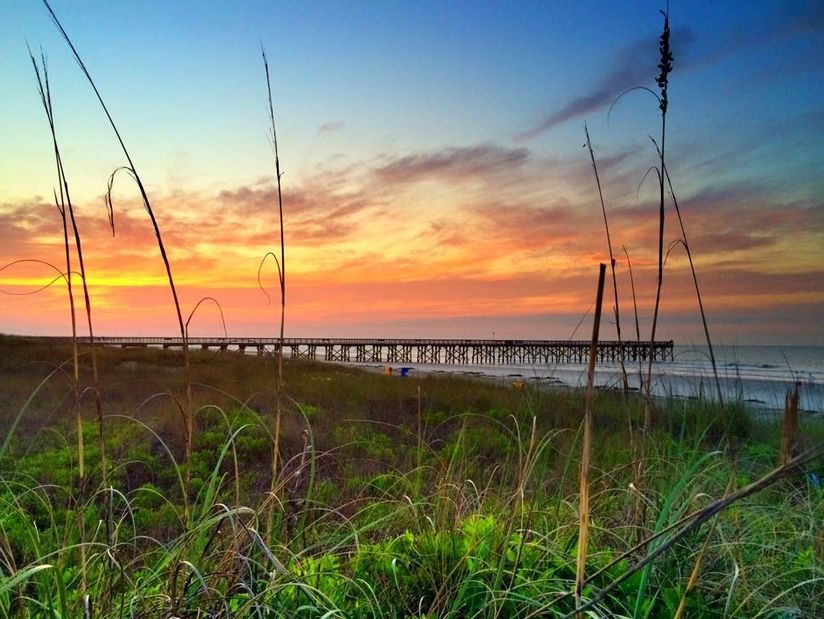 Sunny and warm in Charleston, high near 89 today