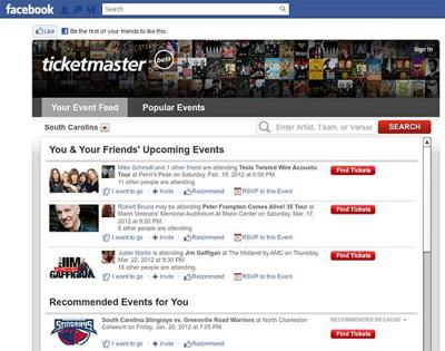 Ticket sellers to open store on Facebook