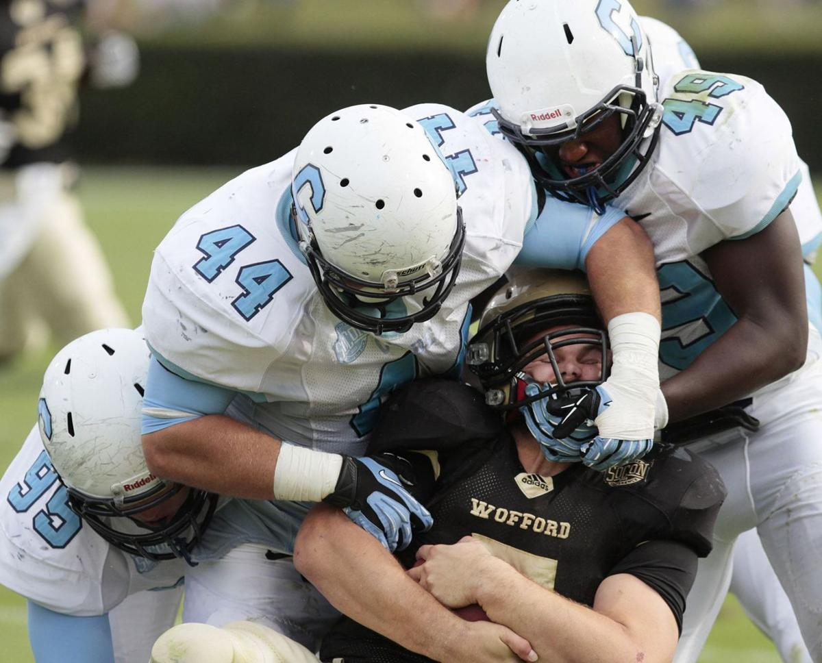 Wofford survives Citadel