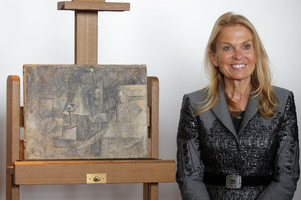 Picasso painting found in N.J. back in Paris museum