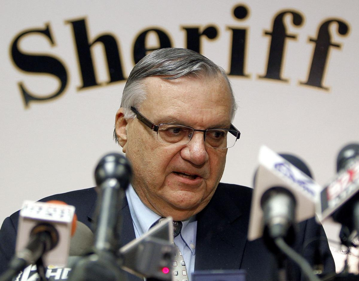 Justice Department files civil rights lawsuit against Ariz. sheriff