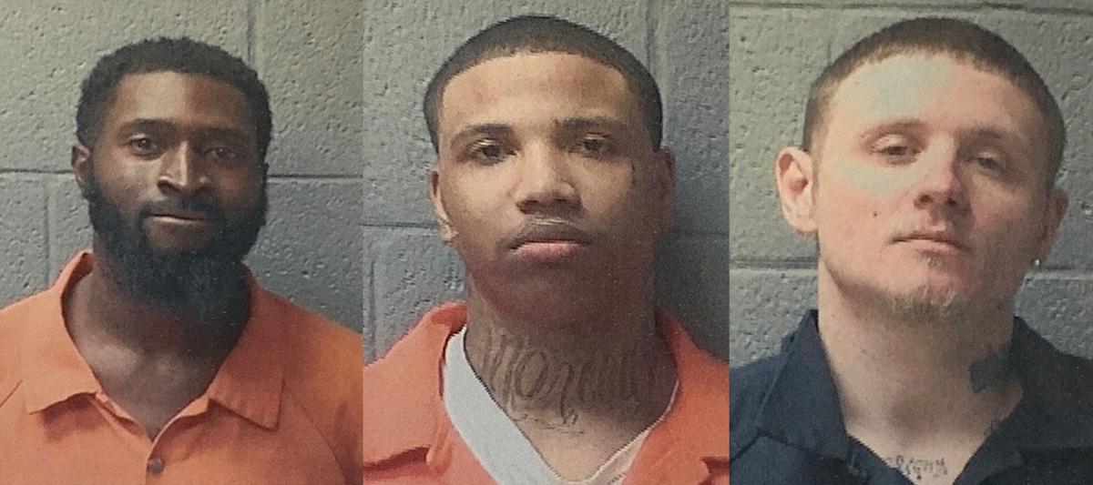 Three jail escapees