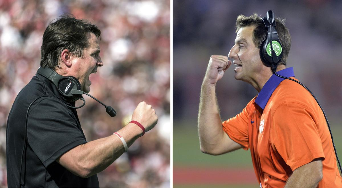 Will Muschamp and Dabo Swinney
