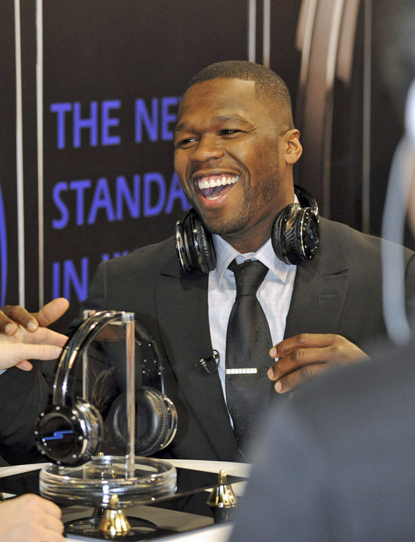 Celebrities push pricey headphones