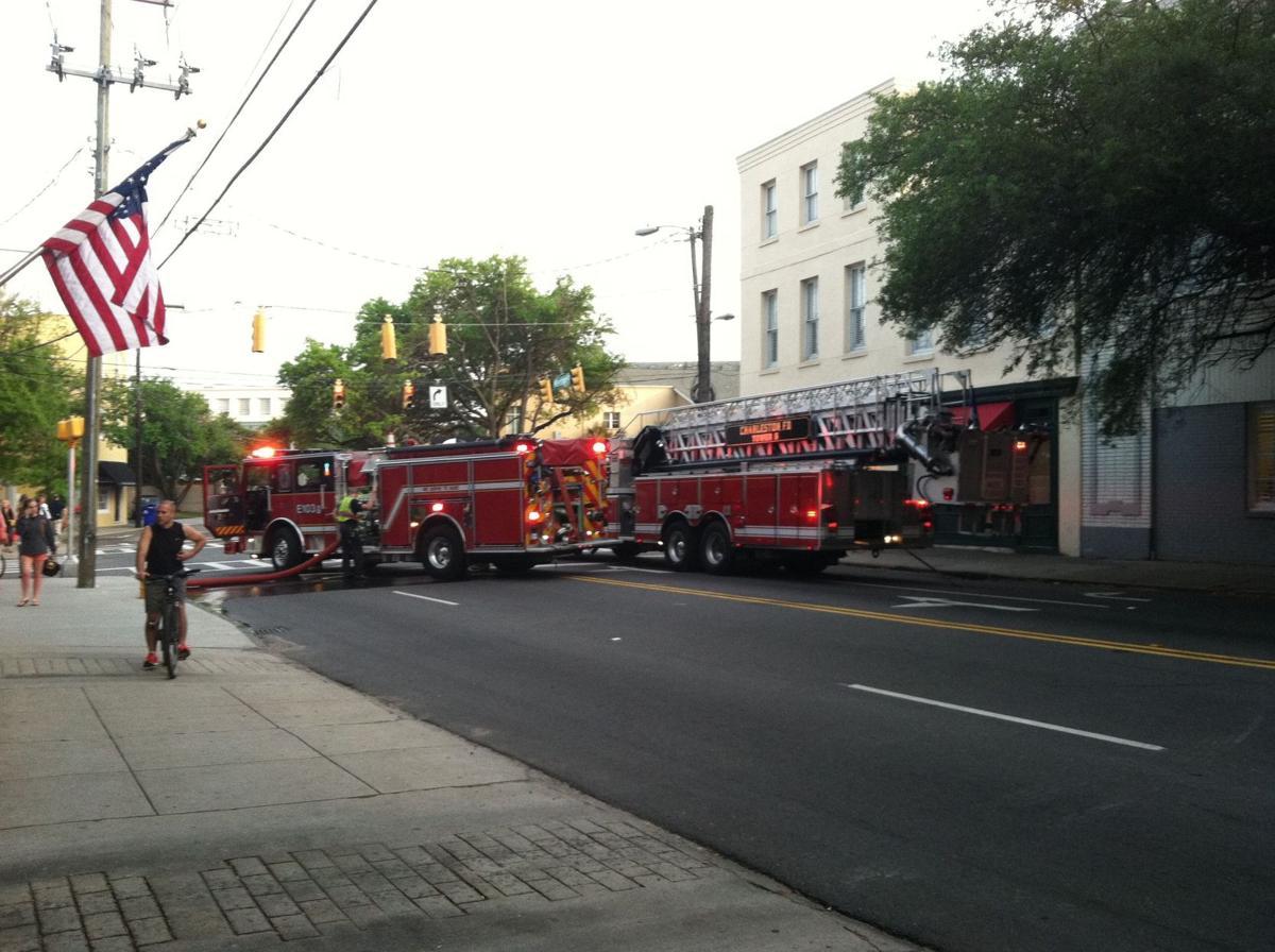 Bakery damaged in blaze