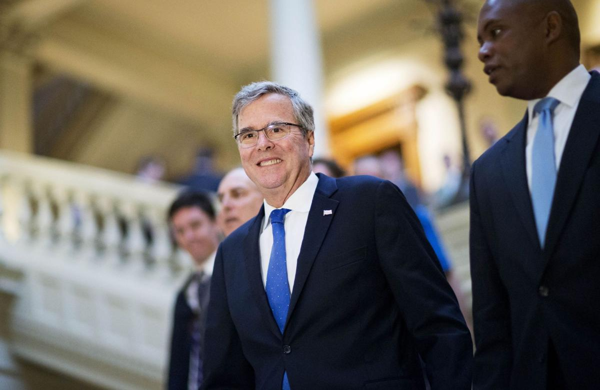 Jeb Bush struggles to gain new GOP identity