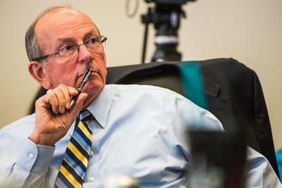 Howard Duvall at City Council meeting 2017