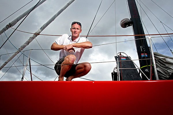 'If you're a sailor, this is it ... ,' British skipper says